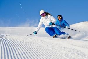 skier en europe