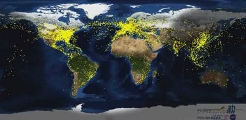 Le trafic aérien en temps réel