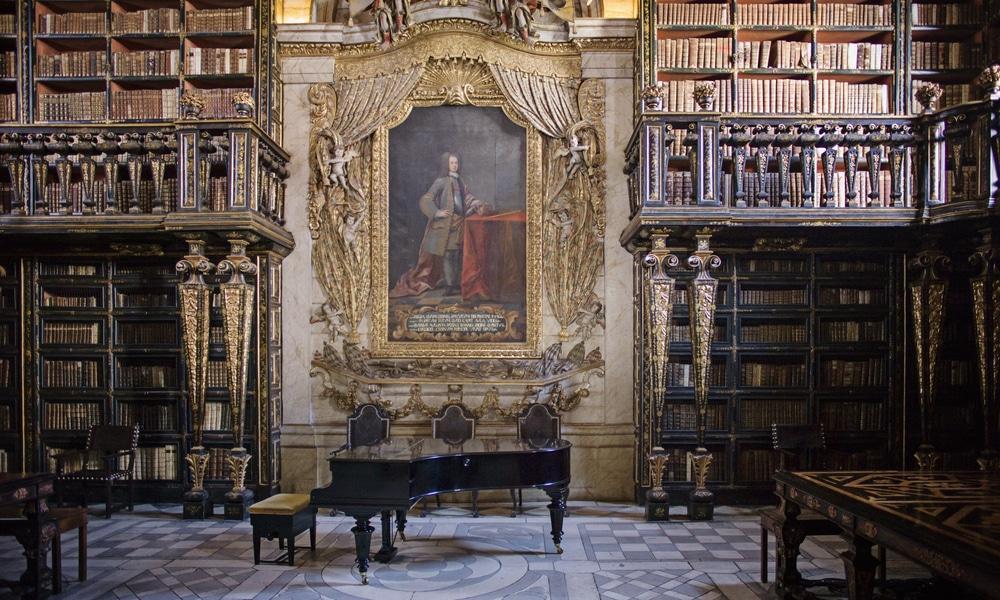 Bibliothèque Joanina, Coimbra