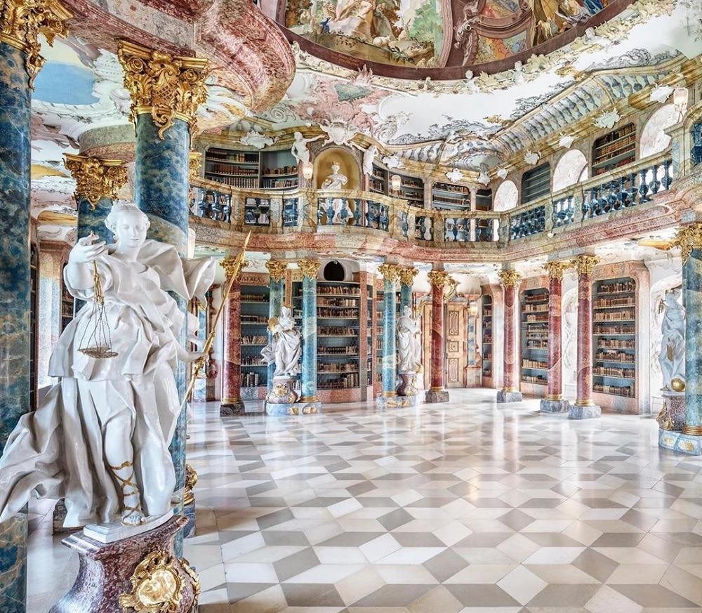 Bibliothèque de Wiblingen, Allemagne