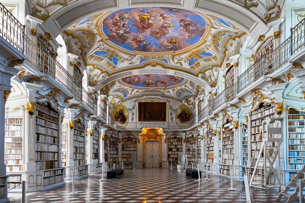 Bibliothèque de l'abbaye d'Admont, Autriche