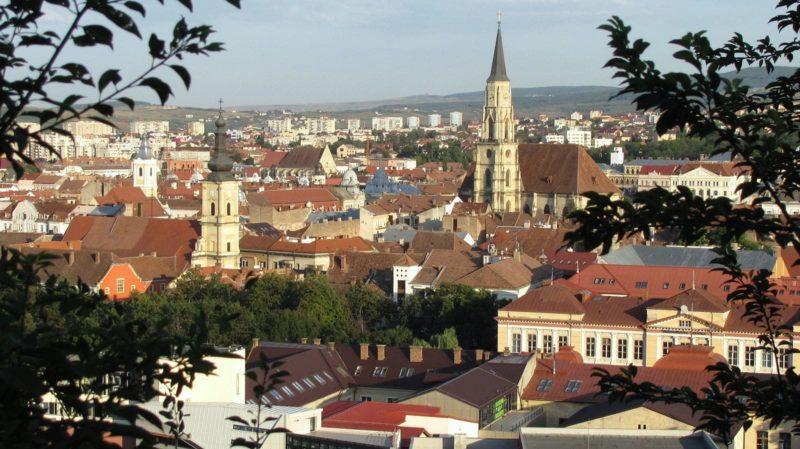 Vue de Fortress Hill, Cluj Napoca