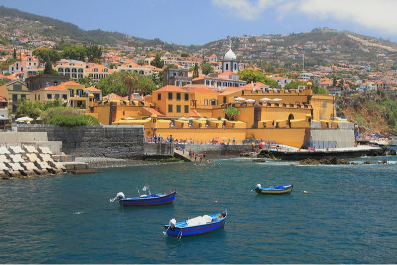 Forteresse, Funchal, Madere