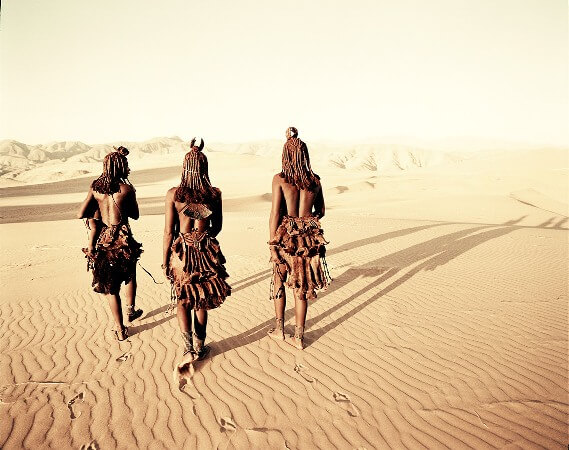 Les Himbas en Afrique