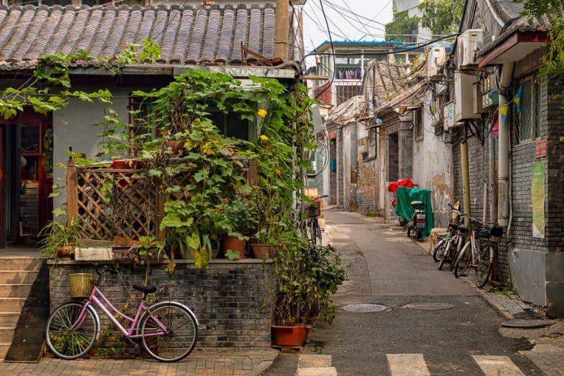 Les Hutongs, Pékin