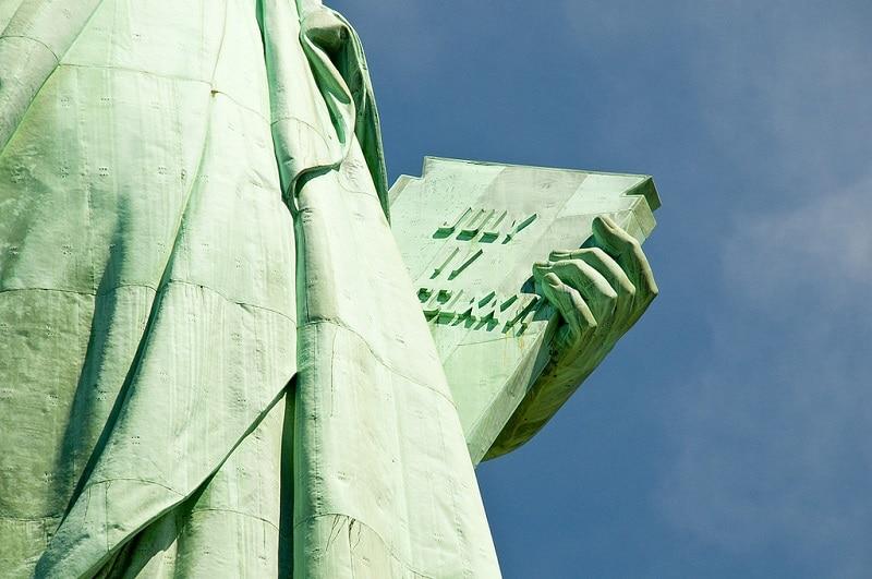 Independance Day, statue de la liberté