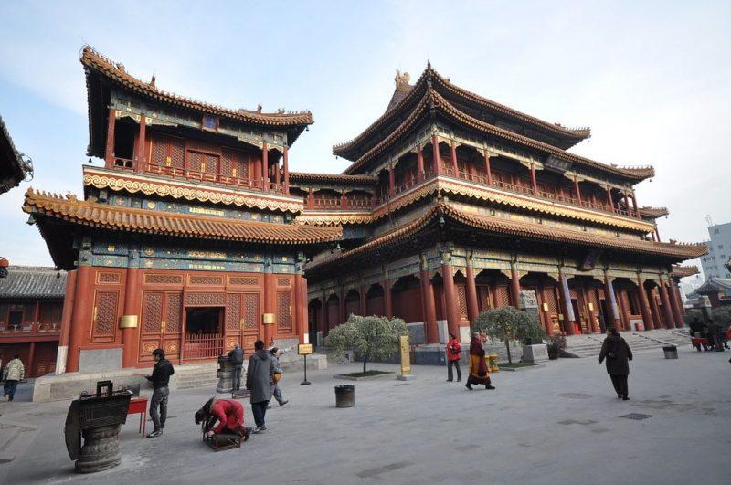 Temple des Lamas, Pékin