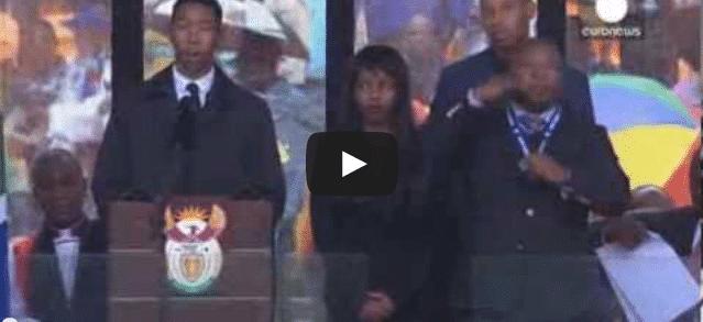 Hommage à Mandela : l'interprète était un faux !