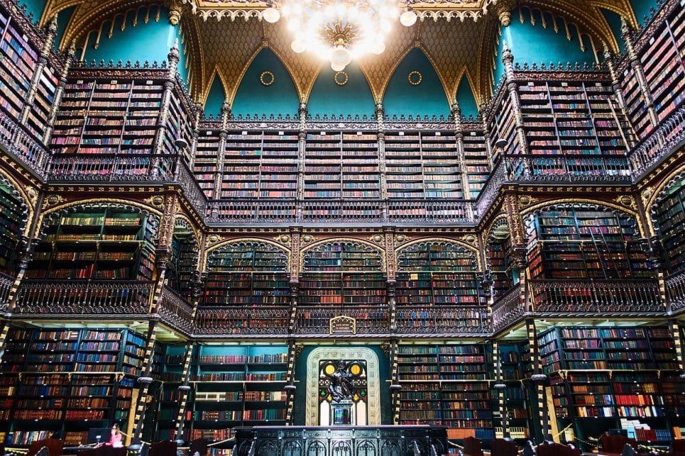 Librairie nationale du Brésil, Rio de Janeiro