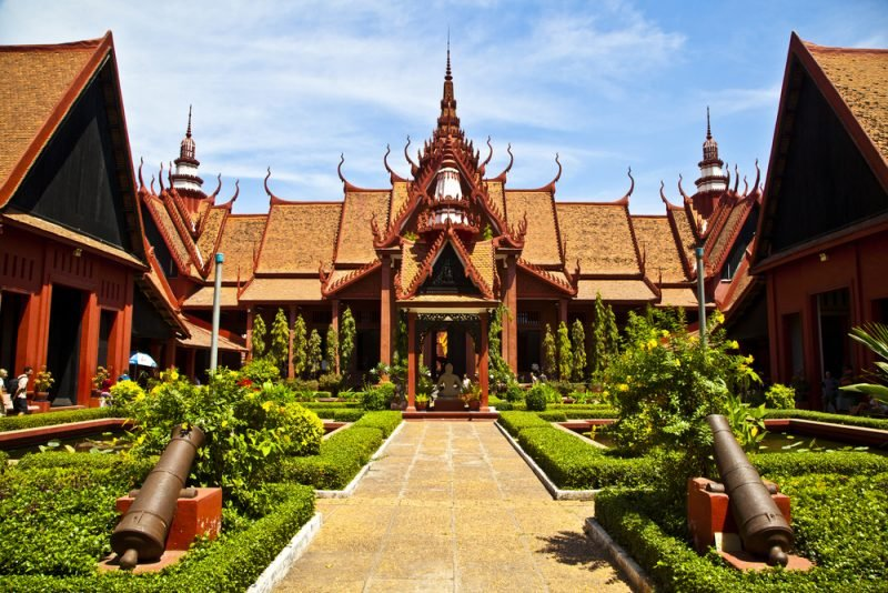 Musée national du Cambodge, Phnom Penh
