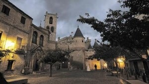 El Castillo-Palacio de Olite. Foto: OSKAR MONTERO