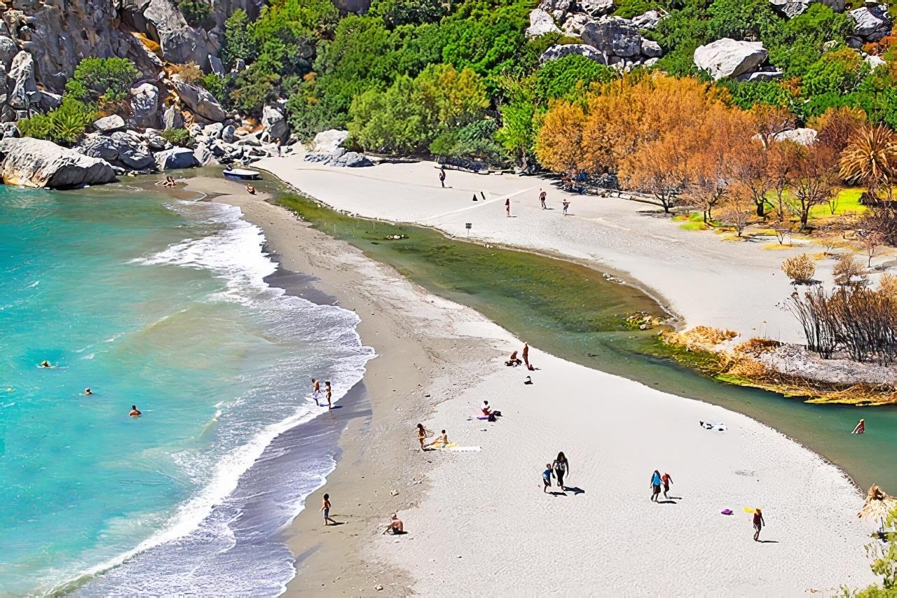 plage crete