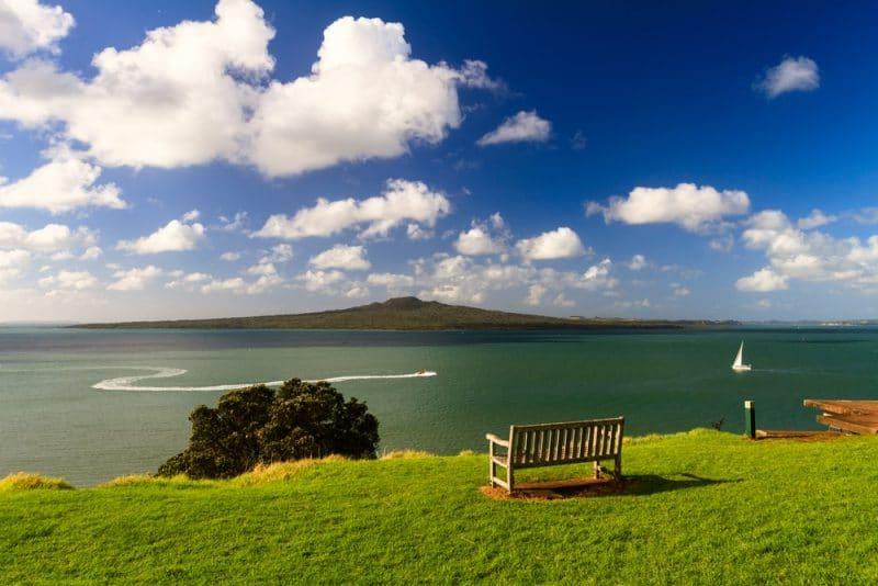 Rangitoto Island, Nouvelle-Zélande