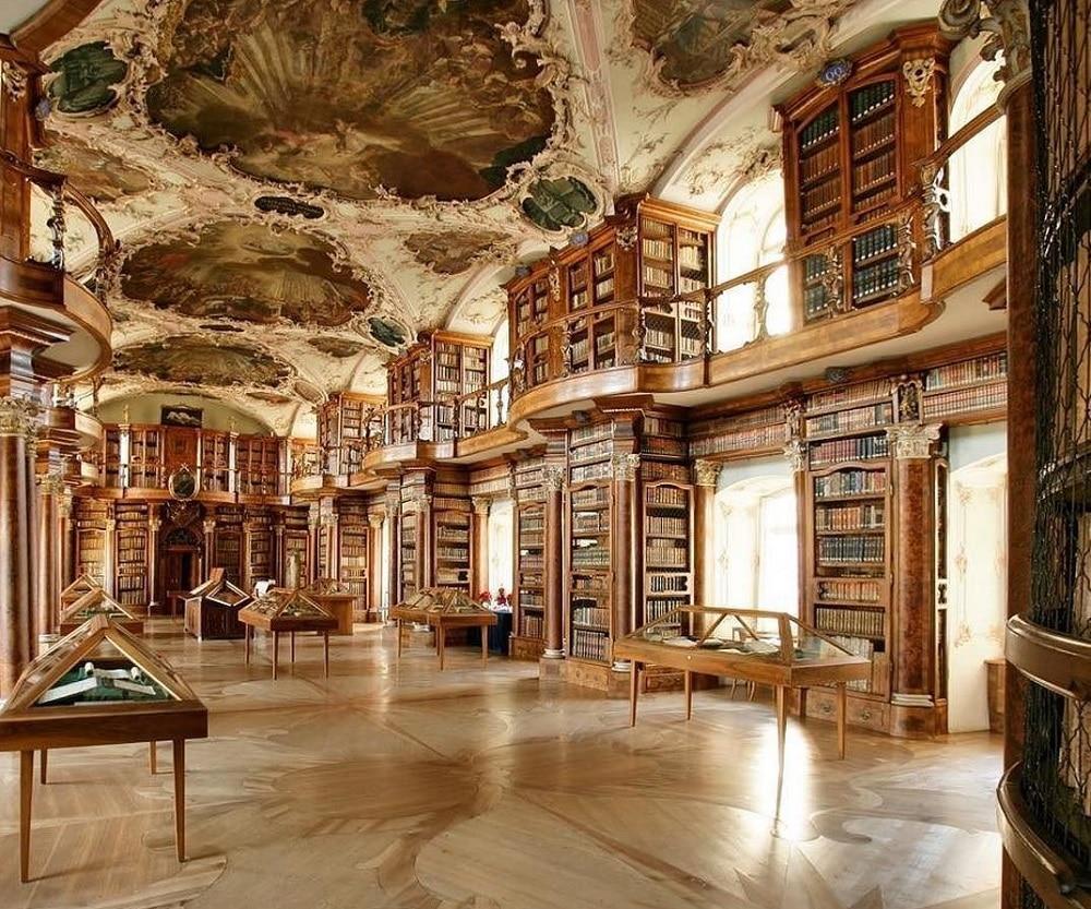 Bibliothèque de Saint-Gall, Suisse