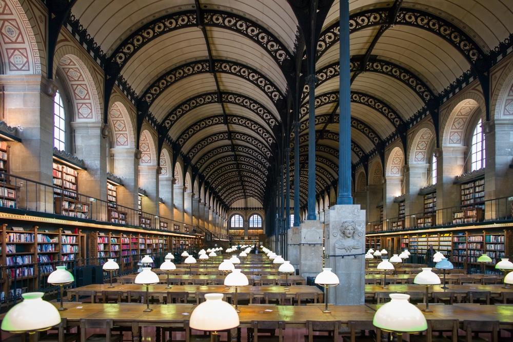 Bibliothèque Sainte-Geneviève, Paris