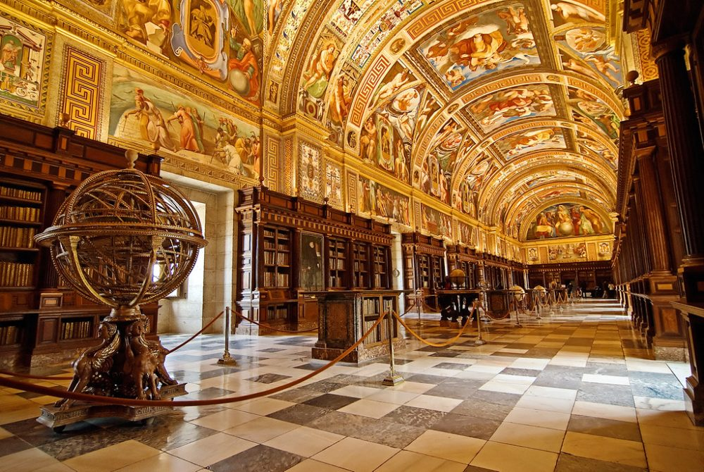San Lorenzo Del Escorial, Bibliothèque