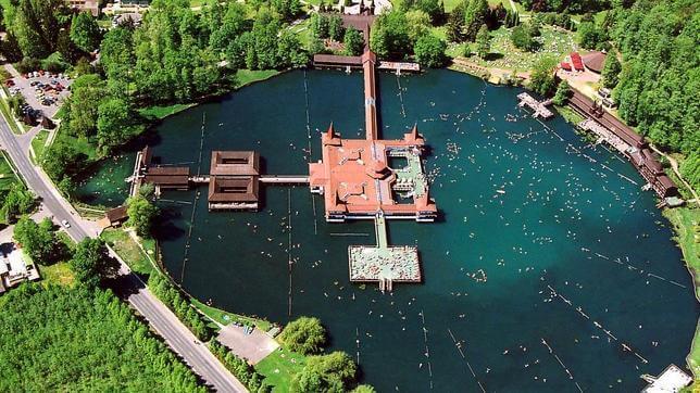 Lac Hévíz, Hongrie