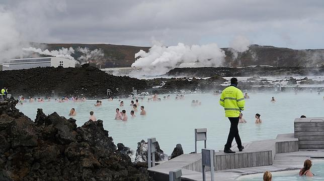Lagune bleue, Islande