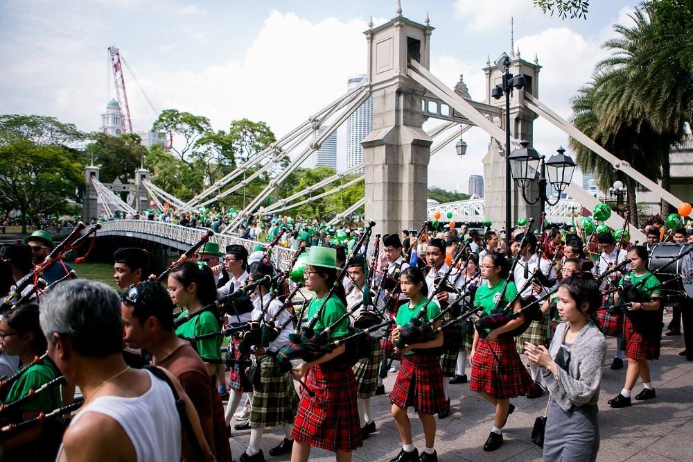 Saint Patrick à Singapour