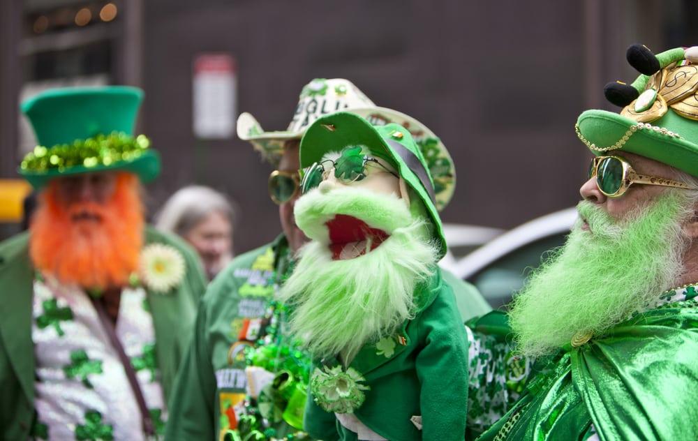 Parade annuelle de la Saint Patrick, Cinquième Avenue, New York