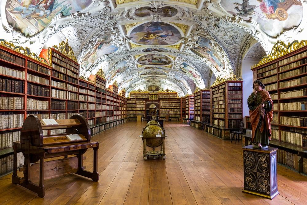 Bibliothèque de Strahov, Prague