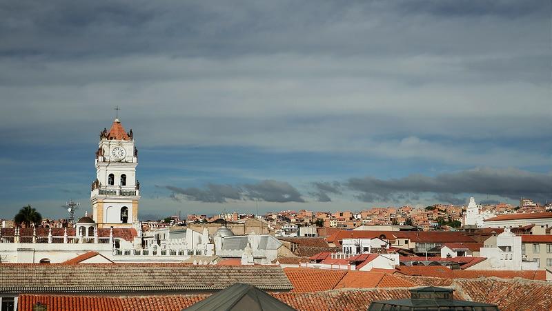 Sucre, ville en Bolivie