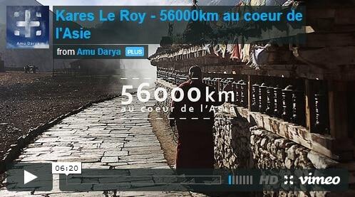 Tour d'Asie par Kares Le Roy (56 000km)