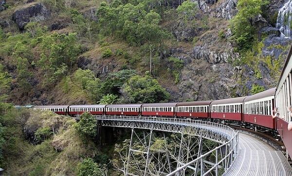 Les trains dans le monde