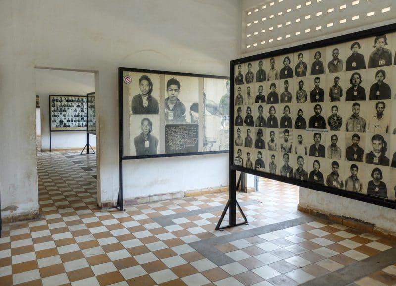 Tuol Sleng mamorial museum, Phnom Penh
