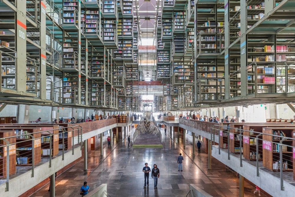 Vasconcelos, librairie, Mexico City