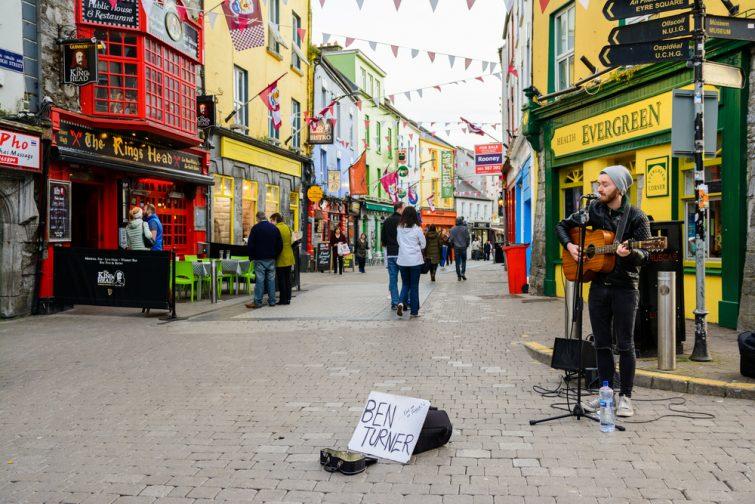 Vieille ville de Galway
