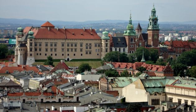 Ville de Cracovie