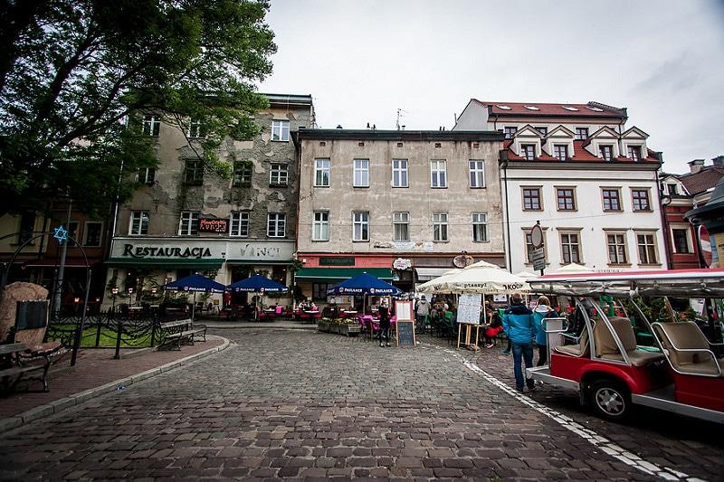 Quartier juif à Cracovie