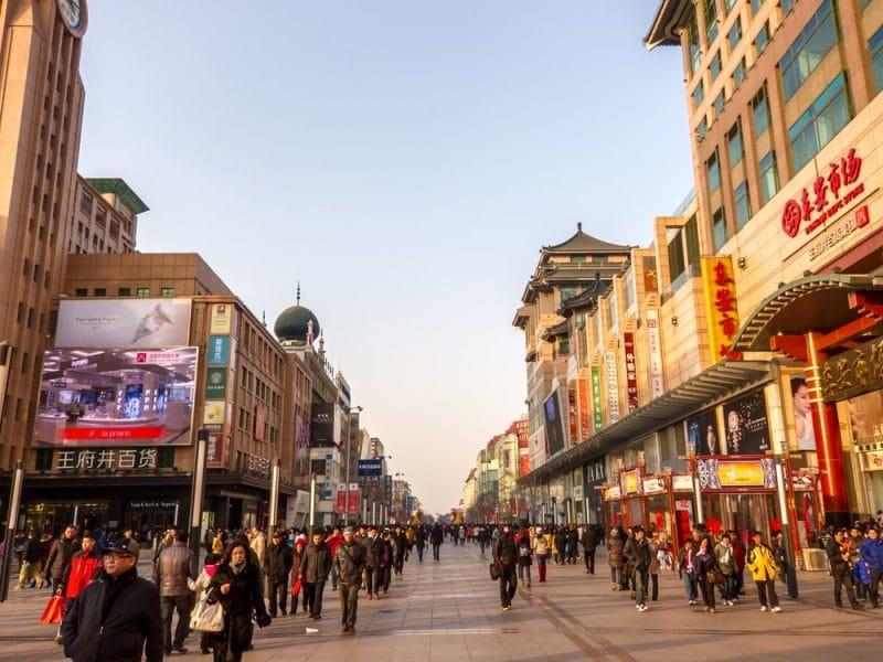 Wangfujing street, Pékin