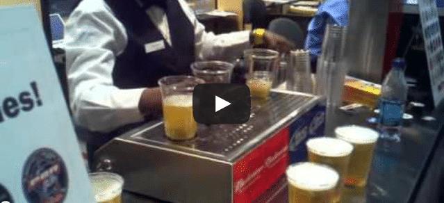 Une tireuse à bière ultra rapide !