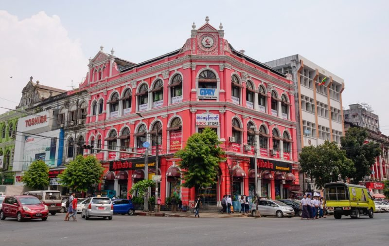 Quartier colonial, Yangon