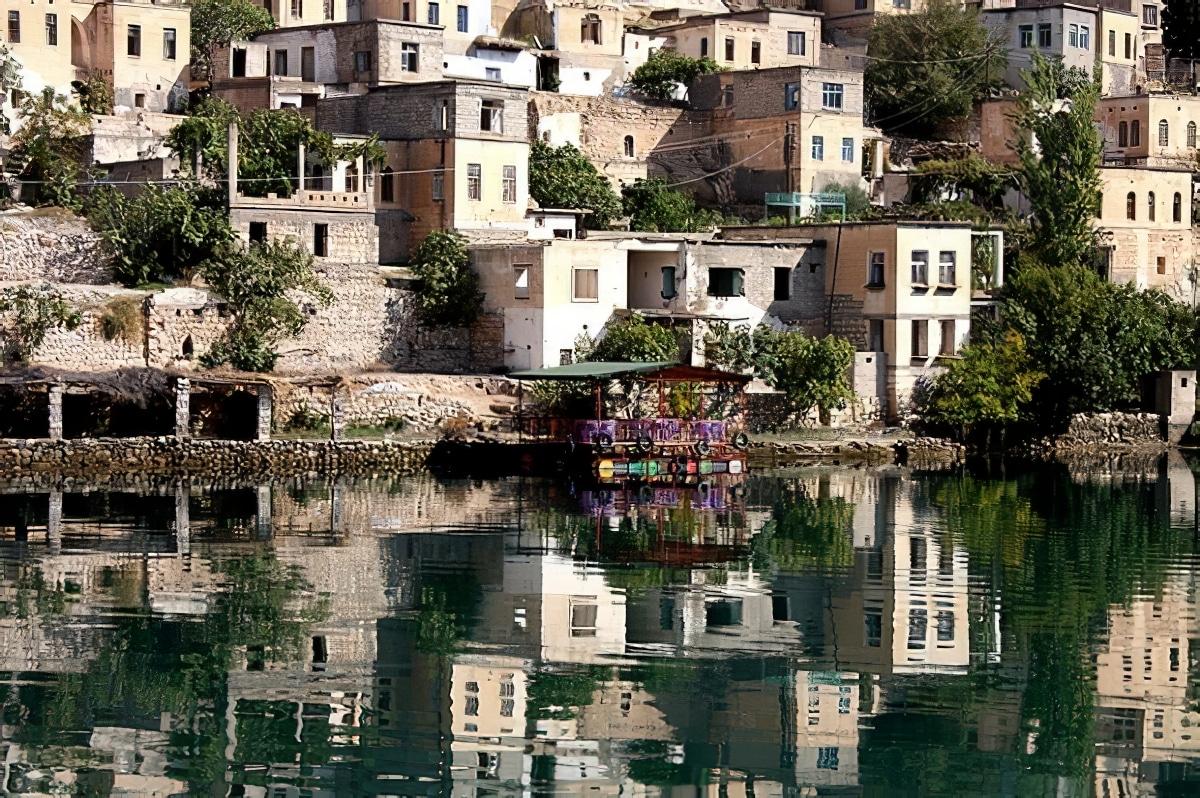 Le village submergé de Halfeti en Turquie
