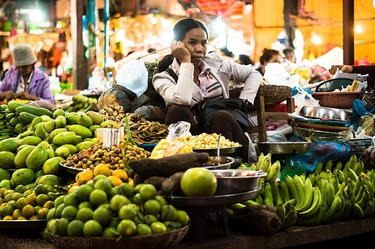 Marché de Siem Reap