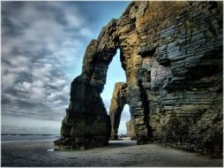 plage des cathedrales galice2