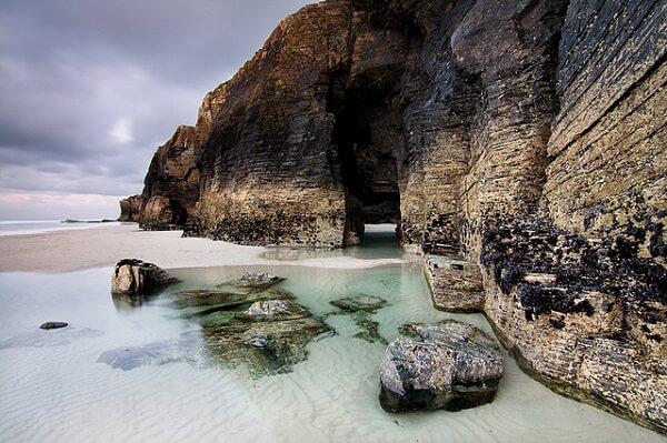 plage des cathedrales galice