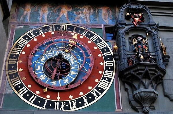 tour de l'horloge berne