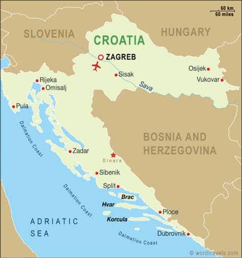 Découverte de la Côte Adriatique et des Îles de Croatie