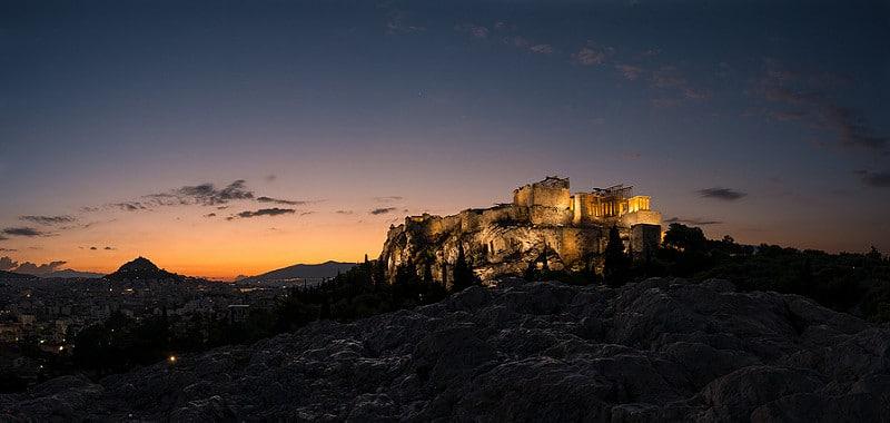 Acropole et Parthénon, Athènes