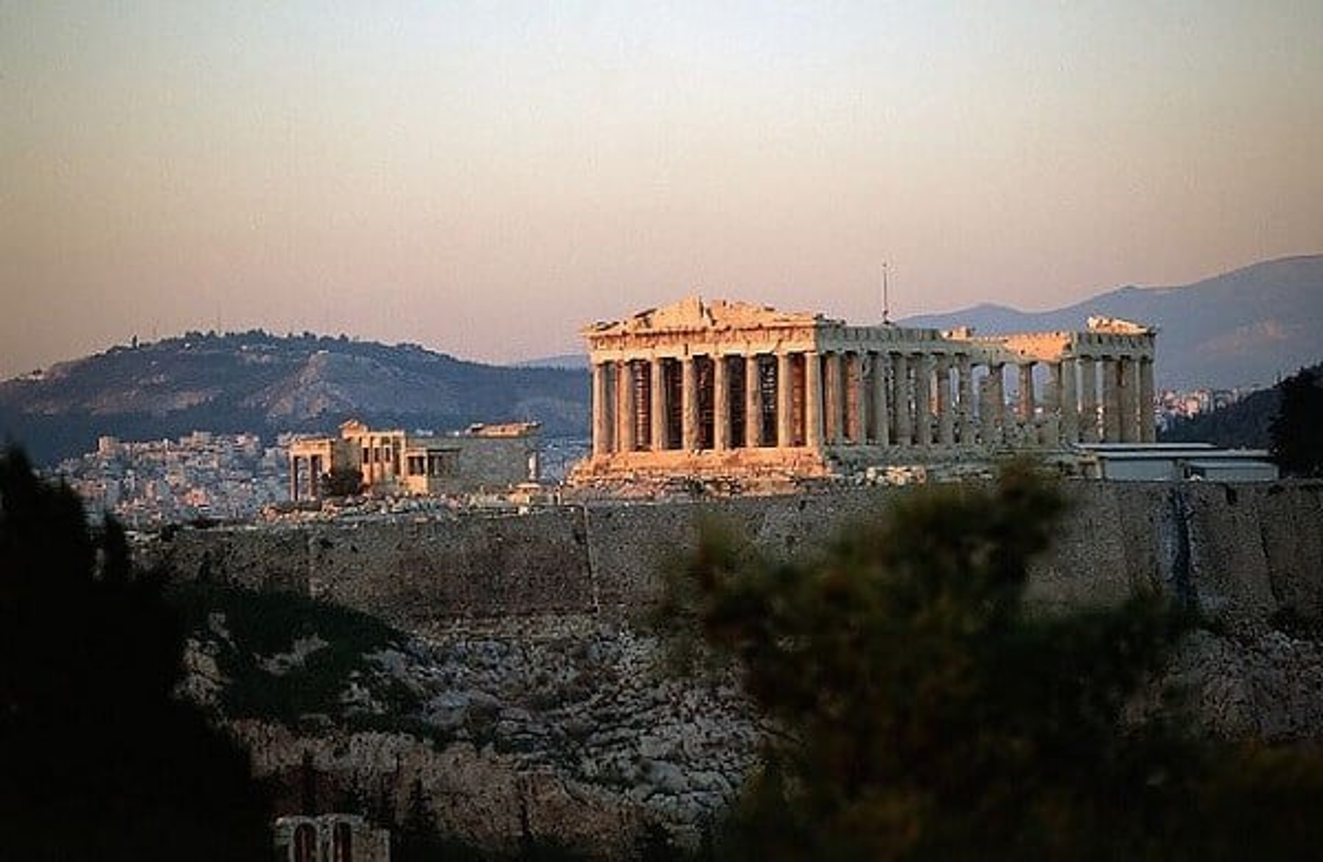 Acropole Parthénon Athenes