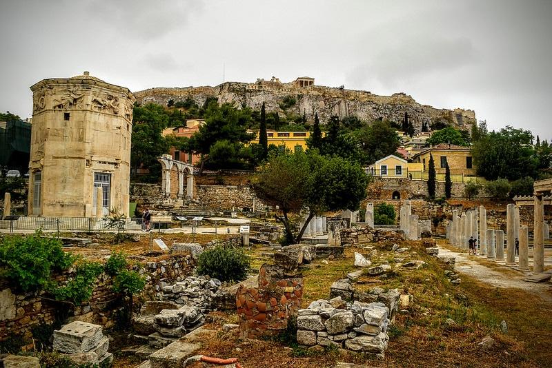 Ancienne Agora, Tour des Vents, Athènes