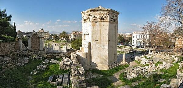 Agora romaine Tour des Vents Athènes