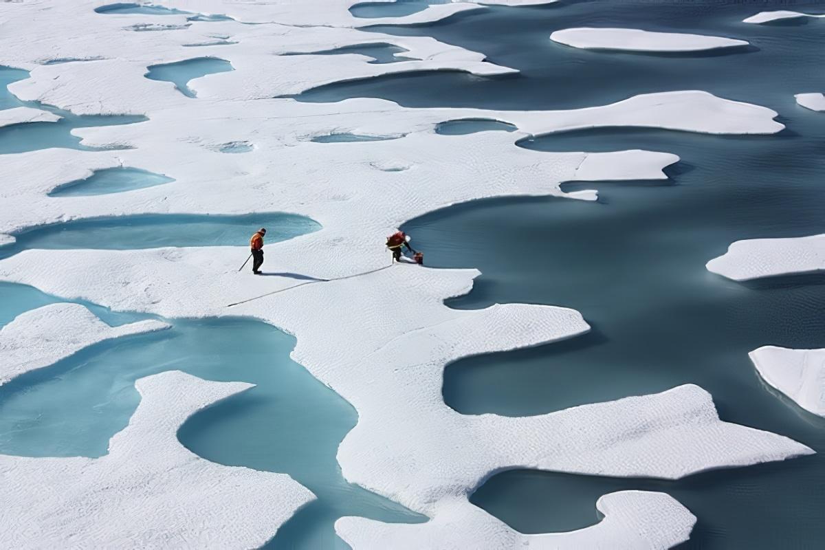 Groenland glace et eau