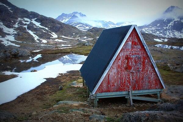 Groenland maison isolée