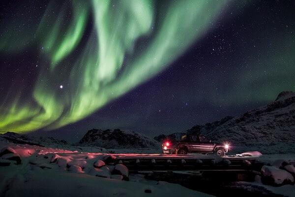 Groenland Aurores Boréales