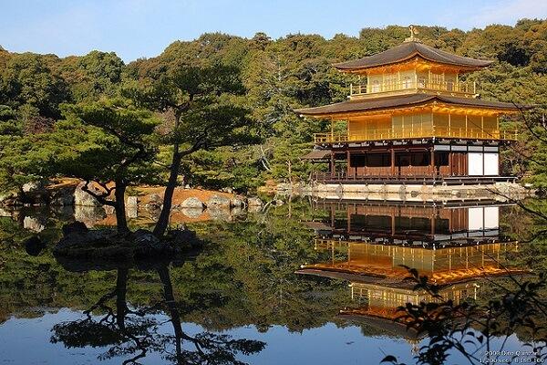 Temple Kinkaku-ji Kyoto